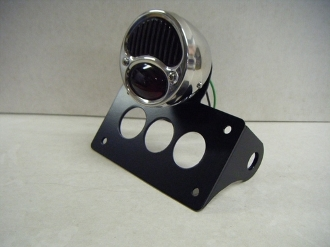Horizontal Model A License Plate Bracket & Light