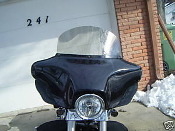 "12"" Windshield for 1996 and newer Harley Touring"