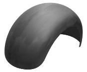 Rigid Rear Fender for 200 Tire
