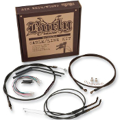 "Burly 12"" Handlebar Installation Cable Kit - Dyna(FXD)"