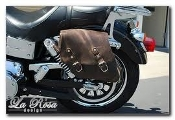 La Rosa Design 'Solo' Saddlebag for 06-13 Dyna Models