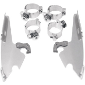 Memphis Batwing Fairing Trigger-Lock Mount Kit for FXD, FXDC
