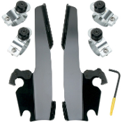 Memphis Batwing Fairing Trigger-Lock Mount Kit for 91-05 FXD