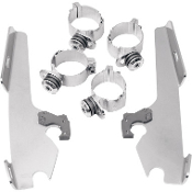 Memphis Batwing Fairing Trigger-Lock Mount Kit for 08-13 FXDF