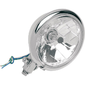 "5-3/4"" Bottom-Mount Headlight Assemblies for Springer-Clear Lens"