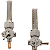 Chrome Petcocks- Straight Spigot or 90 degree Spigot