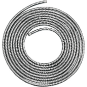 "Stainless Steel Braided Hose 3/8"" X 3', 6' or 25'"