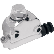 Chrome Rear Master Cylinder for 58-65 FL(drum brake/DOT 5 fluid)