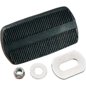 Brake/Clutch Pedal Pad Assembly for 65 FL