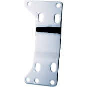 Chrome Transmission Mounting Plate for 86-99 5-Speed Softail