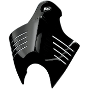 V-Shield Horn Cover for 91-14 Big Twin
