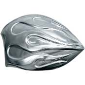 Chrome Flame Horn Cover for 91-16 Models