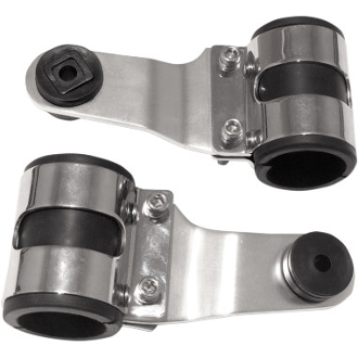 Side Mount Lightweight Headlamp Brackets for Panhead