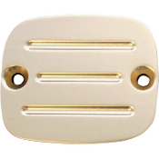 Master Cylinder Cover w/Milled Lines 96-09 Big Twin, 96-03 XL