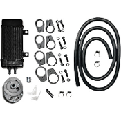 Wideline 10-row Vertical Frame-Mount Oil Cooler Kit