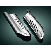 Chrome Lower Fork Leg Deflector Shields