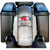 "9"" Rear Fender with 4.5"" Extenstion & LED taillight assembly"