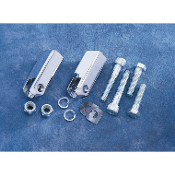 Chrome Passenger Footpeg Mount Kits for 86-03 XL
