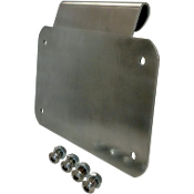 License Plate Mount for 93-14 Harley Touring Models w/Hard Bags