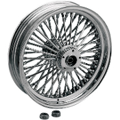 Fat Daddy 50-Spoke Radially Laced Dual Disc Front Wheel