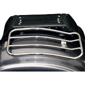 "7"" Solo Luggage Rack for Honda VT750 Shadow Aero 04-09"