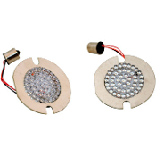 LED Turn Signal Inserts for flat/FL-style turn signals