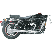 2-Into-1 Megaphone System for 91-98 Dyna Glide