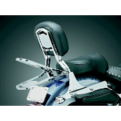 Fold-Down Sissy Bar Luggage Rack