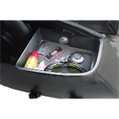 Left Side Top Shelf Saddlebag Organizer