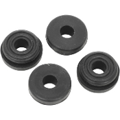 Saddlebag grommets