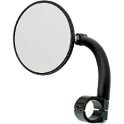 Round Utility Mirrors w/Clamp-On Mounts