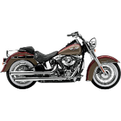 "3"" Slip-On Mufflers for 07-15 FLSTN/FLSTSB Models"