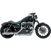 "3"" Slip-On Mufflers for 04-13 XL Models"