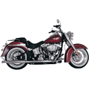 Dual Exhaust Crossover System for 07-11 FXST & FLST Models