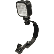 WASPcam Camera mount w/LED light and case