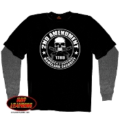 2nd Amendment Thermal Sleeve Tee