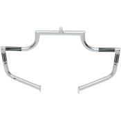 Chrome Front Twinbars for 97-14 FLHT, FLHR, FLHX