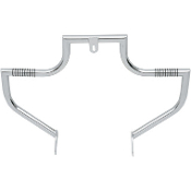 Chrome Linbar Front Highway Bars for 91-15 MODELS w/mid-controls