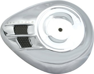Airstream Air Cleaner Cover - Chrome or Black
