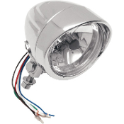 "4-1/2"" Spotlights with Running Light- Grooved or Smooth"