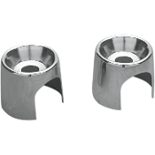 Chromed Shock Top Stud Covers