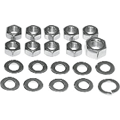 Transmission Kicker Cover Nut Kits for 36-47 Knucklehead