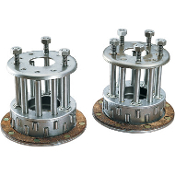 Complete Three- and Five-Stud Clutch Hubs for 36-47 Knucklehead
