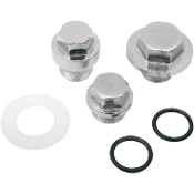 Oil Pump Plug Kit for 70-80 Big Twin- Hex Head Style