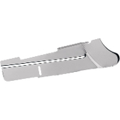 Chrome Lower Rear Belt Guard for 91-99 FXD
