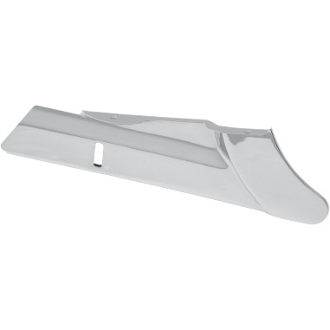 Chrome Lower Rear Belt Guard