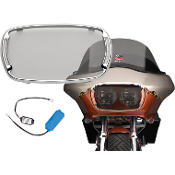 Illumabezel for 98-09 Road Glide Fairings