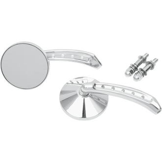 "3"" Round Mirrors with 5-Hole 5-3/4"" Stem"