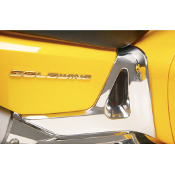 Chrome Battery Side Cover Trim for Honda GL1800 Gold Wing 01-10