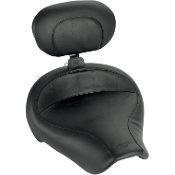 Wide Solo Seats w/Removable Backrest for 96-03 Dyna Glide